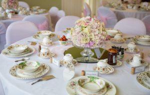 wedding cream tea